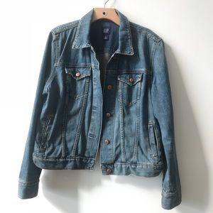 GAP women's jean jacket XL